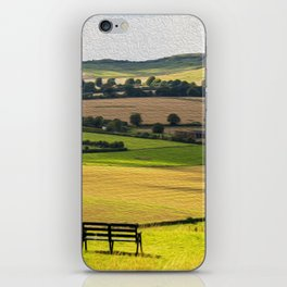 Green and Pleasant Land iPhone Skin