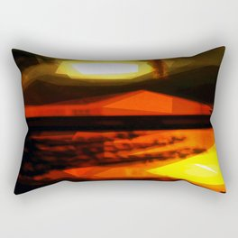Burnin' down the house Rectangular Pillow