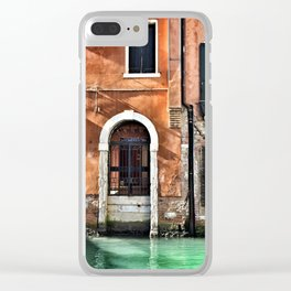Vibrant Venice Clear iPhone Case