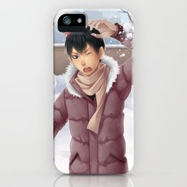 HAIKYUU!! - KAGEYAMA TOBIO ~ WINTER iPhone Case