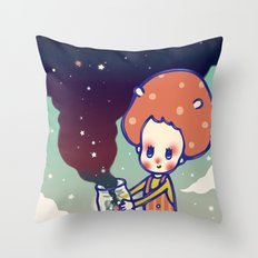 magic little star Throw Pillow