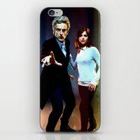 run iPhone & iPod Skins featuring Run! by Taylor Bookout