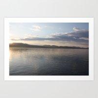 Mallory Island Sunset Art Print