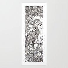 Rare Bird Art Print