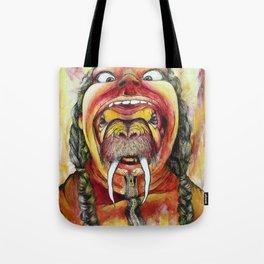 Human hat Tote Bag