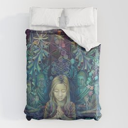 I Know That Language Duvet Cover