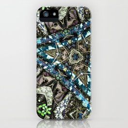 Blue Pine iPhone Case