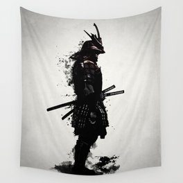 Armored Samurai Wall Tapestry