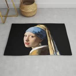 Girl with a Pearl Earring - Jonah Vermeer Rug