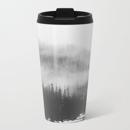 Mystic Forest Metal Travel Mug