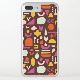 Seventy Geo Clear iPhone Case