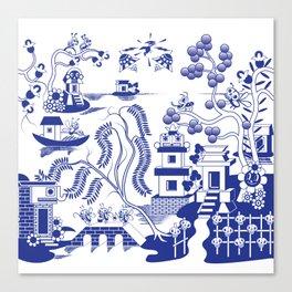 Goo Willow Canvas Print