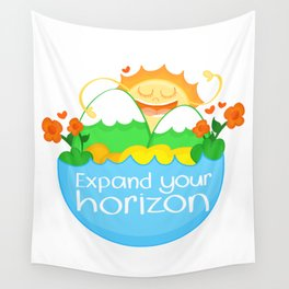 Expand Your Horizon Wall Tapestry