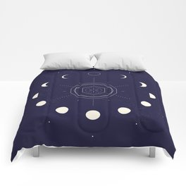 Moon Phases Comforters