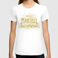 martell T-shirts featuring House Martell Typography by P3RF3KT