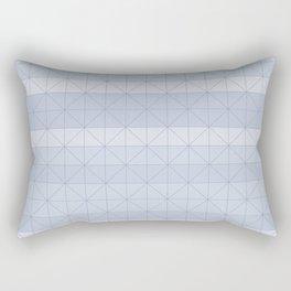 Geometric pattern light blue Rectangular Pillow