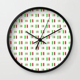 Flag of Italy - Handmade Wall Clock