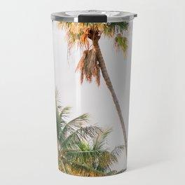 Curvy Florida Palms Travel Mug
