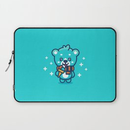 Ice Cream Bear Laptop Sleeve