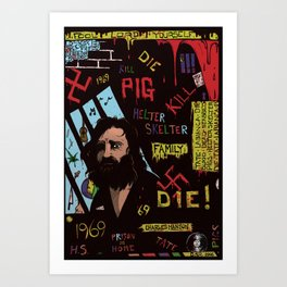 SK 3 Manson Art Print