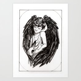 Bird Child Art Print