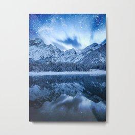 Fantasy at mountain lake Metal Print