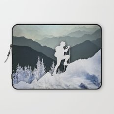 Winter Mountains Laptop Sleeve