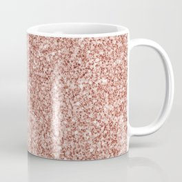 Blush Pink Glitter Coffee Mug