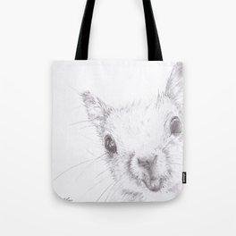Hello Squirrel Tote Bag