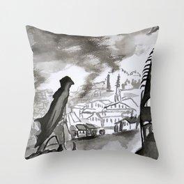 Chronicles of Assassins Throw Pillow
