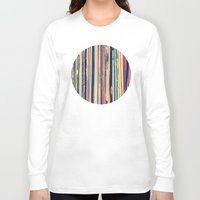 vinyl Long Sleeve T-shirts featuring Vinyl  by Laura Ruth