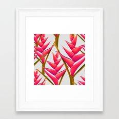 flowers fantasia Framed Art Print