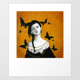 The Unveiling Art Print