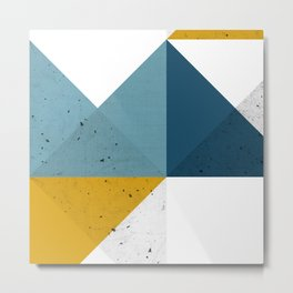 Modern Geometric 19 Metal Print
