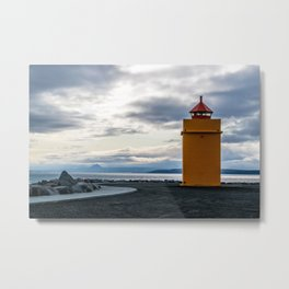Lighthouse at the Point Metal Print