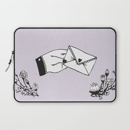 Snail Mail Love Laptop Sleeve