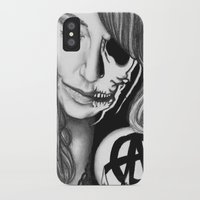 gemma iPhone & iPod Cases featuring Twisted Gemma by E. Moug Art
