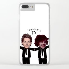 Louis & Harry-477 Clear iPhone Case