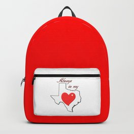 Always in My Heart TX Backpack