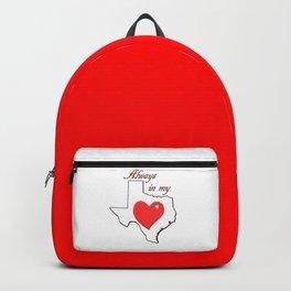 Always in My Heart TX Backpack