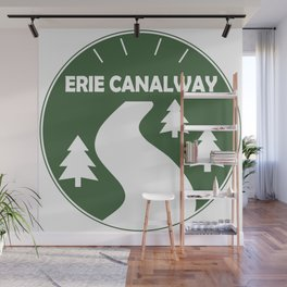 Erie Canalway Trail Wall Mural
