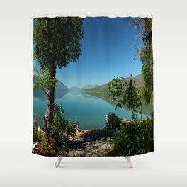 Moody Lake McDonald Shower Curtain