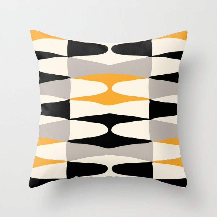 Zaha Bee Throw Pillow