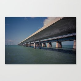 Seven Mile Bridge, Florida Keys Canvas Print