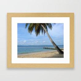 Isle of San Blas PANAMA - the Caribbeans Framed Art Print