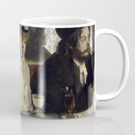 The Absinthe Drinker by Edgar Degas Coffee Mug