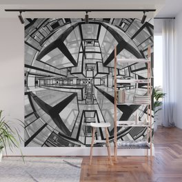 Mathroom sci-fi artwork Wall Mural