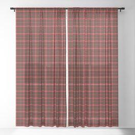 Connel Tartan Plaid Sheer Curtain