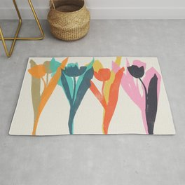 tulips 2 h Rug