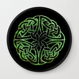 Celtic Glow Wall Clock